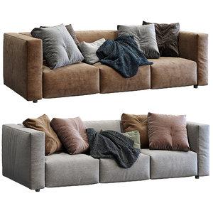 3D prostoria sofa match 2 model