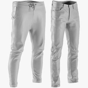 3D mesh men s jeans