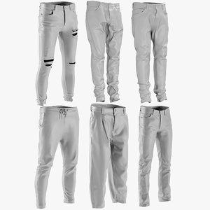 mesh men s jeans model