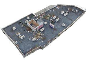 roof scan 16k model