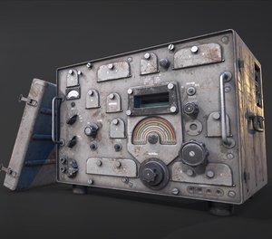 radio r-310 dozor 3D model