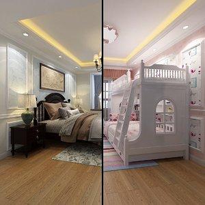 parent bedroom model