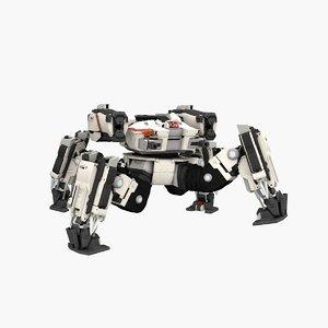 talos spider robot 3D model