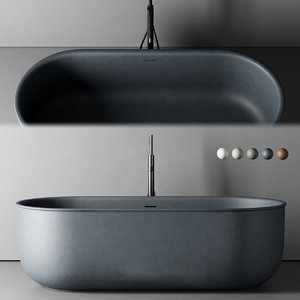 freestanding bathtub 3D