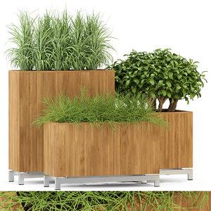 plants 284 3D model