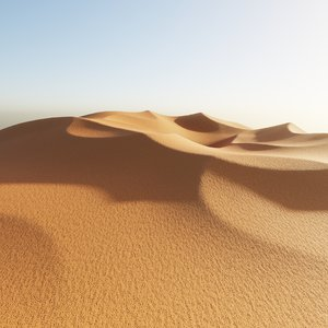 desert dunes 1 3D model