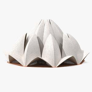 temple building 3D model