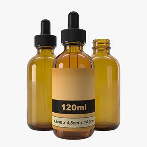 3D bottle 120ml type4