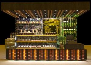 decor cafe bar 3D model