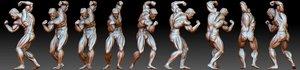 3D model bodybuilder