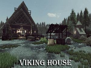 3D viking house