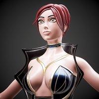 Character human Girl - Game Ready