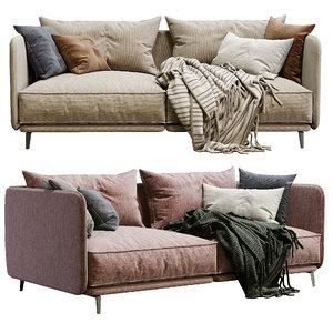 3D sofa k2 arflex 2 model