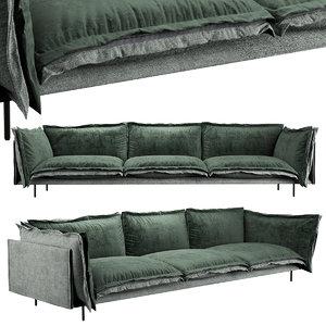 sofa auto reverse 3D model