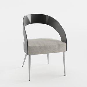 3D kellex mani armchair upholstery