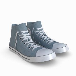 3D shoe converse sneaker