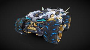 renault car 3D