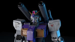 3D gundam rx-78-6 model