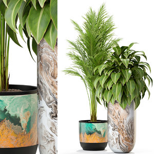 plants 300 3D model