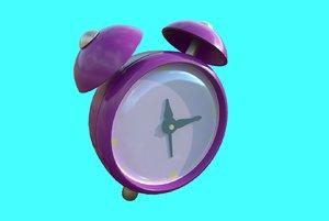 cartoon clock 3D