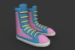 3D boots t model