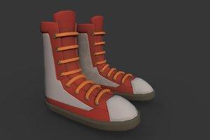 3D model boots t