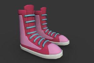 boots t 3D model