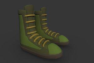 3D boots t