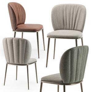 chair cattelan 3D
