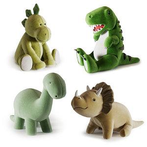 plush toys 3D model