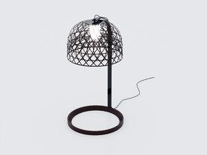 3D mooo lamp model