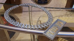 diamonds chain vid-19 3D
