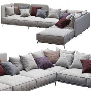 3D sofa k2 arflex
