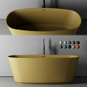 vesta bathtub 3D model