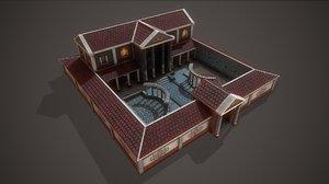 3D model ancient parricians villa