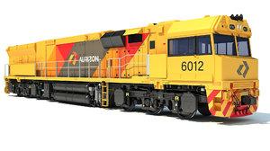 3D locomotive aurizon model
