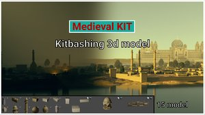 medieval kit 3D