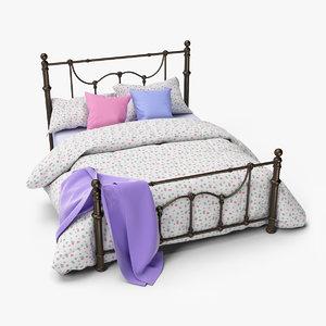 dark bronze victorian bed model