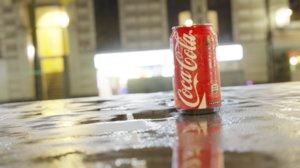3D cola soda drink