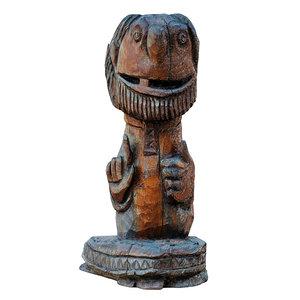 3D park sculpture brownie