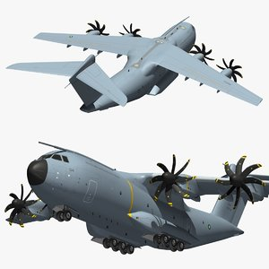 airbus a400m malaysia air force 3D model