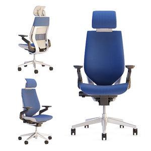 steelcase gesture office chair 3D