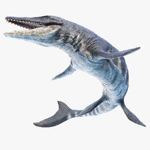 3D tylosaurus
