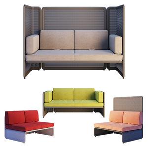 3D coalesse lagunitas - lounge