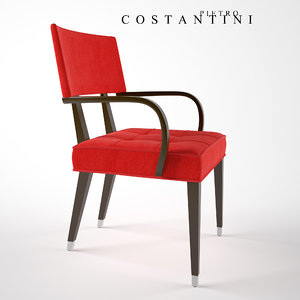 prestige dining chair costantini 3D