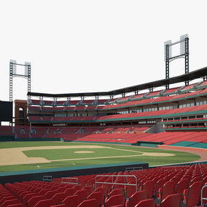 3D stadium busch st model