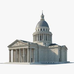 pantheon paris model