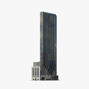 trump tower 3D