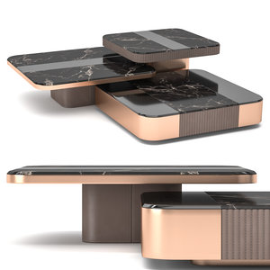 3D model coffee table medea