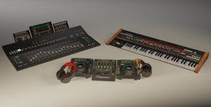 3D musical instruments